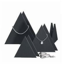 Set 4 display a triangolo per gioielli