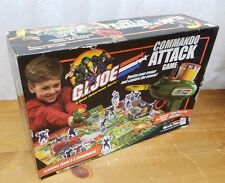 G.I. Joe Commando Attack 3-D Game 2002 Hasbro Milton Bradley 40802 For Parts