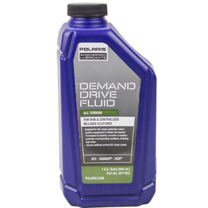 Polaris New OEM Demand Drive Oil 32oz Fluid Qt 2877922 Sportsman Razor RZR