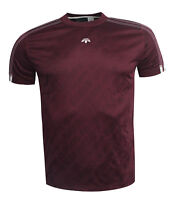 Adidas Originals by Alexander Wang Short Sleeve Mens T-Shirt Maroon BR0255 EE101