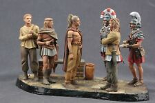 Tin toy soldiers ELITE painted 54 mm recruitment of new recruits to Roman troops