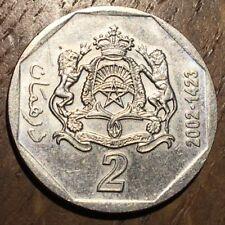 PIECE DE 2 DIRHAM MAROC 2002 (390)