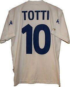 2001 #10 Francesco TOTTI ITALY Football Shirt Jersey KAPPA size S Tricot Maglia