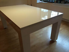 ** MILANO** NEW ENTERTAINMENT Dining Table Seats 6-12 From **SUPERPOOL UK**
