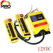 12VDC 1 Speed 2 Transmitter 7 Channel  Hoist Crane Radio Remote Controller