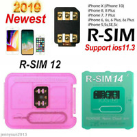 Newly RSIM14/12+2019 R-SIM Nano Unlock Card For Phone XS MAX/XR/8/7/6 4G iOS 12
