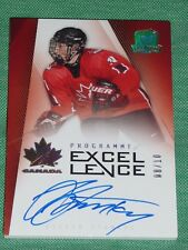 2009-10 The Cup Steven Stamkos Programme of Excellence Auto 8/10 Rare CANADA