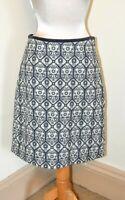 Beautiful Laura Ashley Felted Wool Mix Lined Skirt Size 10/12 BNWOT