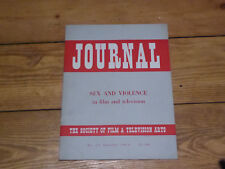 Society of Film and Television Arts Journal No 16 Summer 1964
