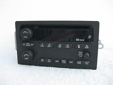 Chevrolet Trailblazer GMC Envoy 2002 2003 AM FM Factory Radio CD Player 15195521
