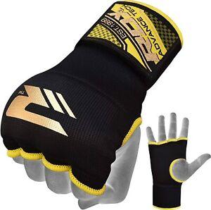 RDX Inner gloves boxing  bandage  Large Size BLACK
