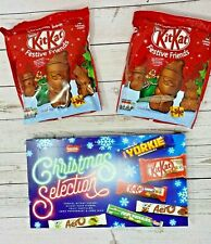 Nestle Christmas Selection Box 216g & KitKat Festive Friends 220g-FAST DISPATCH