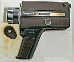 Keystone XL100 Super 8 Electric Eye Video Camera by Berkey, For Parts Or Repair