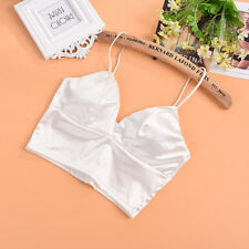 New Women Tank Tops Bustier Bra Vest Crop Top Bralette Sleeveless Casual Blouse