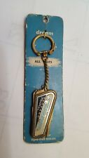 Packard Panther Key Chain and Double Key Holder Crest on Reverse NOS Uncut