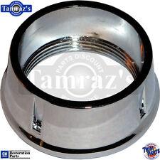 65-67 for Chevrolet Dash Board Ignition Key Retaining Nut - Chrome Bezel