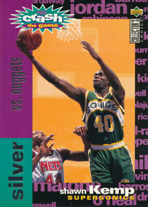 Shawn Kemp 1995-96 Upper Deck Collector's Choice Silver Scoring #C21 Nuggets