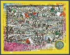 PANINI SCOTTISH PREMIER LEAGUE 2000- #051-CELTIC-A SEA OF GREEN & WHITE FANS