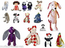 BESPOKE 4 X Pattern Bundle, Your Choice of Any 4 Soft Toy Fabric Sewing PATTERNS
