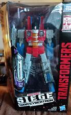 Transformers War for Cybertron: Siege Starscream, 100% Complete, MIB