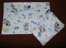 Bedding Disney Minnie Mouse Mickey Daisy Donald Vintage Bedding Fabric 90s