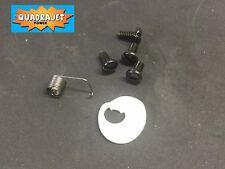 Quadrajet secondary air valve cam kit.  Cam, Spring, Screws. Quadrajet Power LLC