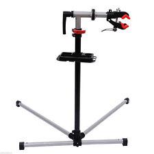 "47"" To 75"" Adjustable Bike Repair Stand Tool Tray Bicycle Cycle Rack Work"