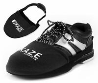 KAZE SPORTS Bowling Shoe Slider Slide, Black