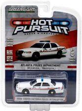Greenlight Hot Pursuit 21 2008 Ford Crown Vic Atlanta Georgia Free USA Ship