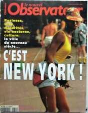 Nouvel Observateur 2000: NEW-YORK_FRANCOISE HARDY_KARIN VIARD_CLAUDIA CARDINALE
