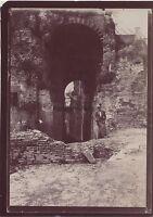 Roma Palatin Italia Foto Amateur Viaggio IN Italia 1898 Vintage Citrato