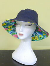 Canvas Wide Brim Hats for Women