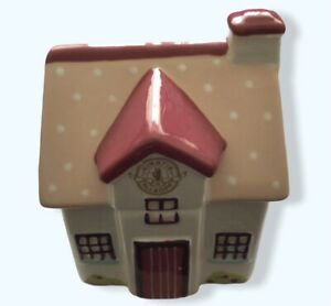 Kirstie Allsopp Cottage House Trinket Jar with Lid Ceramic - Used VGC