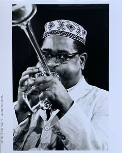 "Jazz Musician Dizzy Gillespie 8"" x 10"" Photograph Press Photo"