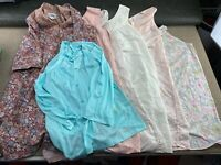 Vintage Womens Night Gown Lot Night Dress Nighty Shirt Floral Vanity Fair Tammy