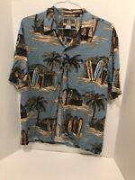 KALAHEO Men's Xl (Made in Hawaii) Hawaiian short sleeve shirt