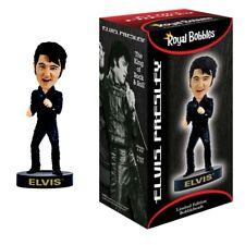 Elvis Bobblehead - Black Leather '68 Comeback Special - New