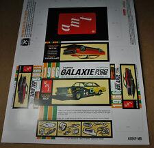 AMT 1/25 1966 FORD GALAXIE 500 7-LITRE HARDTOP MINI CUT & FOLD RETRO KIT BOX!