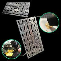 1/35 Scale General Use Footprint Handprint Schablone für Alexen AJ0075 Modell