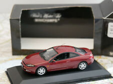 MINICHAMPS FORD COUGAR 1998 RED MET. ART.430 088020  DIE-CAST  1:43 NEW