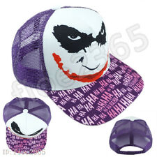 DC Jack The Joker Hiphop Cosplay Snapback Adjustable Baseball Cap Flat Hat Gift