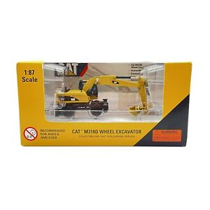 Norscot CAT M318D Wheel Excavator 1:87 Scale Model 2007 New and Sealed