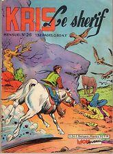 KRIS LE SHERIF 26 année 1962 BEL ETAT