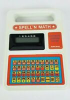 Vintage 1980s Radio Shack Spell N Math Learning Toy Tested And Works