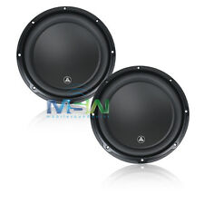 "(2) *NEW* JL AUDIO 12W3v3-4 12"" W3v3 SUBWOOFERS 4-OHM SVC CAR WOOFERS SUB *PAIR*"