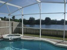 14357 4 bed 2 bath pool home with pool and spa with lake view Disney Orlando FL