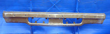 1973 GM General Motors Chevy Chevrolet Monte Carlo Front Bumper Facebar 3987085