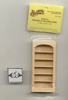 Half Scale 1:24 - Bookcase -  Dollhouse wooden miniature  #H5016 Houseworks