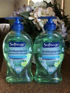 SOFTSOAP PUMP ANTI-BAC HAND SOAP FRESH CITRUS Lot Of 2 11.25 OZ.