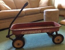 Vintage Hamilton Greyhound Childs pull wagon Lifetime Ball Bearing Wheels 1940s